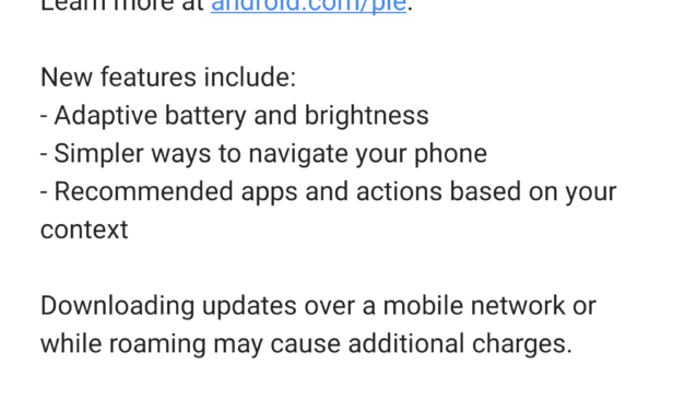 "Android 9 ""Pie"" Officially Announced"