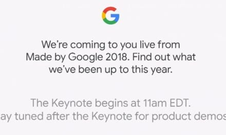 Made by Google Product Launch 2018