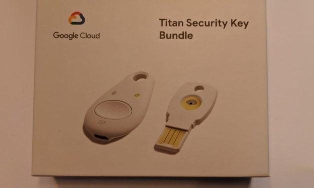 Titan Security Key Bundle by Google Cloud