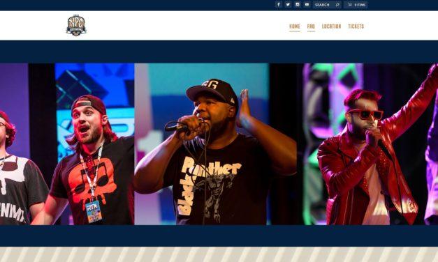 Nerdcore Party Convention site launch